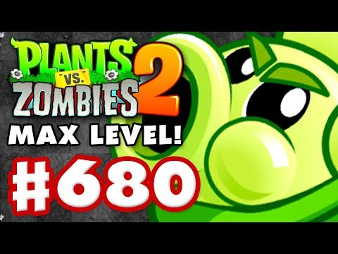 Sling Pea MAX LEVEL! - Plants vs. Zombies 2 - Gameplay Walkthrough Part 680
