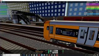 SCR Roblox Stepford Airport To Stepford Crentral Express on the class 387
