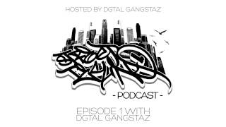 Street Techno Podcast  - Episode 001 with Dgtal Gangstaz