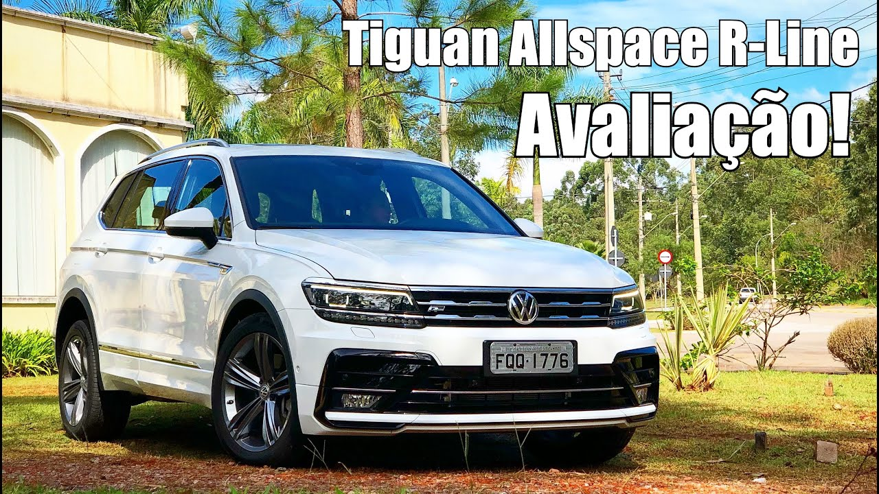 volkswagen tiguan 2018 allspace r line avalia o falando. Black Bedroom Furniture Sets. Home Design Ideas