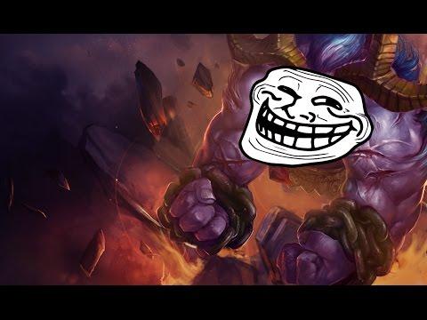 Vài pha bóp đồng đội cực thốn của Alistar (troll lol)