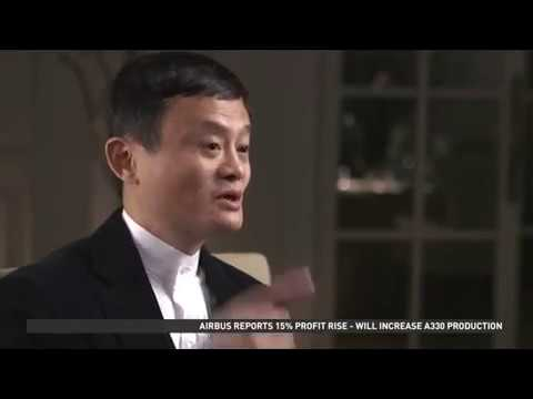 Jack Ma - AliBaba IPO Interview