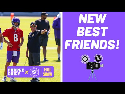 Kirk Cousins and Mike Zimmer watched film together?!