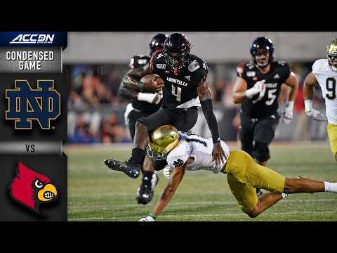 Notre Dame vs. Louisville Condensed Game | ACC Football 2019-20