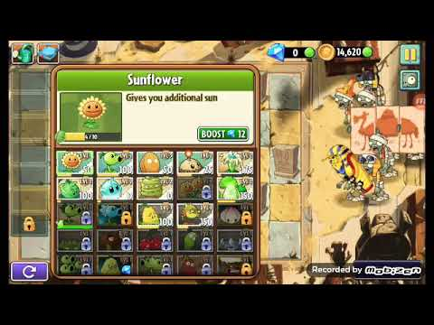 Plants Vs. Zombies 2 Part 6 Ancient Egypt
