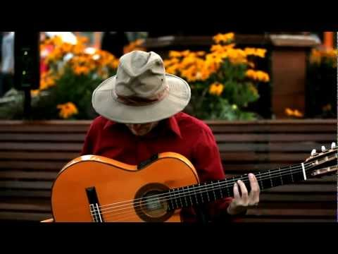 Pursuit of The Cygnus Thief - by J. H. Clarke - Live Spanish Guitar Looping at Pier 39