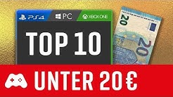 10 tolle Spiele unter 20€! (PS4 / Xbox One / PC Games)