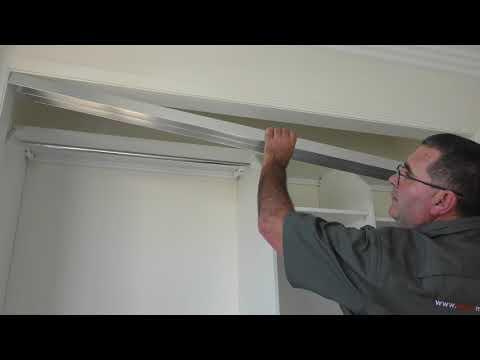 How to Install Sliding Wardrobe Doors