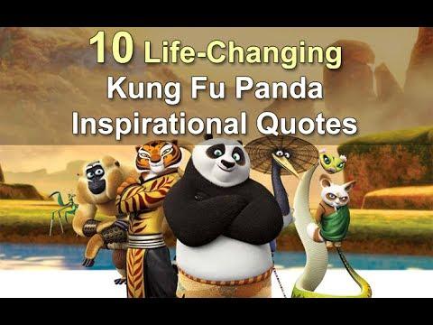 Life Changing Inspirational Quotes Kung Fu Panda Youtube