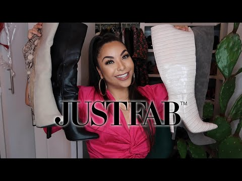 BOOT TRY ON HAUL - JUSTFAB