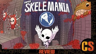 SUPER SKELEMANIA - PS4 REVIEW (Video Game Video Review)