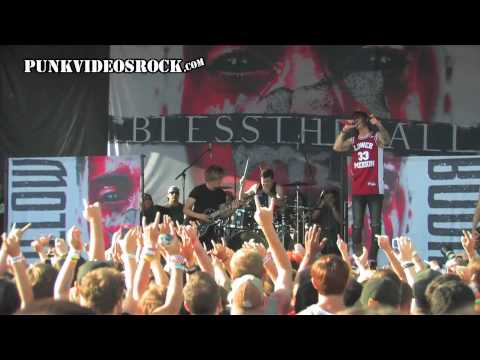 Blessthefall - Promised Ones (Vans Warped Tour 2013)