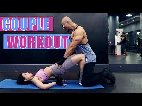 Olahraga Tanpa Alat Ala Deddy Corbuzier & Sabrina Chairunnisa    10 Menit Couple Workout Bakar Lemak