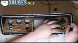 Installing a Woodgrain Resurface Kit on Your Dash Bezel