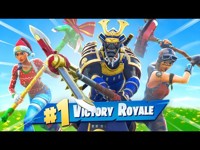Fortnite But PICKAXE ONLY!
