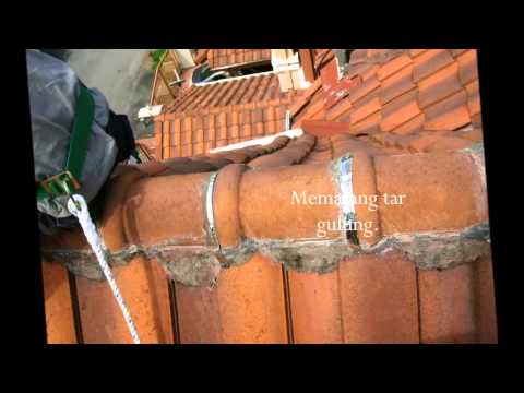Pemasangan Genteng Morando Doovi