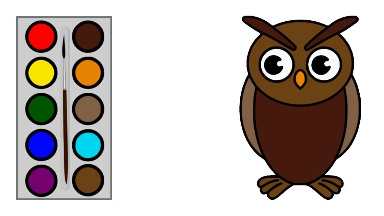 Cara Menggambar Burung Hantu