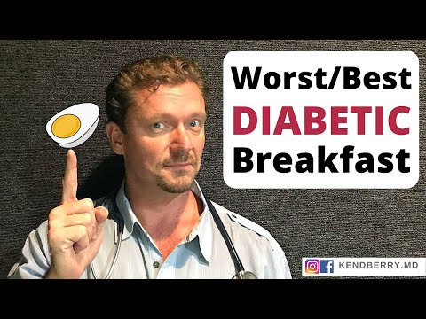 5 Best/Worst Breakfasts for Diabetics 2020