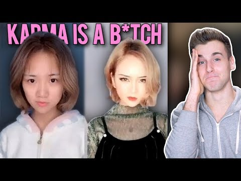 Reacting To Karma Is A B*tch! (Newest Trend)