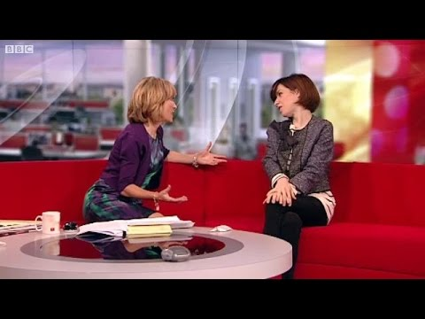 Sally Hawkins on BBC Breakfast 21 Sept 2010 MADE IN DAGENHAM