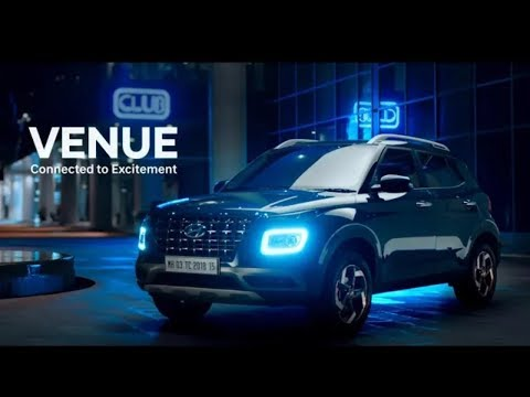 Hyundai VENUE  Indias First Connected SUV Official Video 2019.   1080P HD