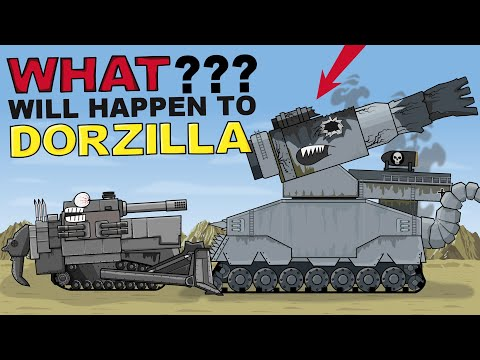 """What will happen to Dorzilla?"" Cartoons about tanks"