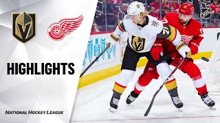 Extended highlights of the Vegas Golden Knights at the Detroit Red ...