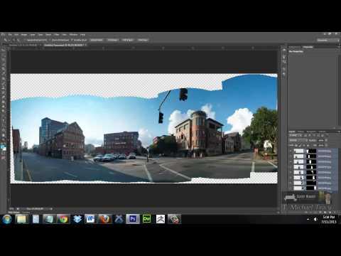 Photoshop: Photomerge Panorama