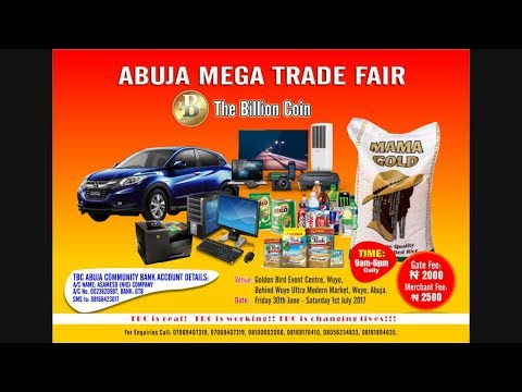 TBC Abuja mega trade fair video