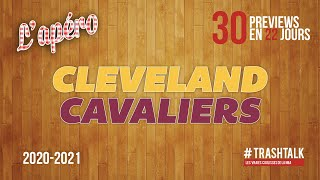 NBA Preview 2020-21 : les Cleveland Cavaliers
