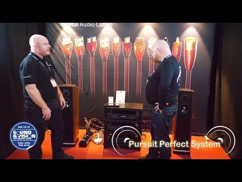 Audioquest Linn Akurate Exactbox Kudos Titan 606 @ Bristol Show Sound And Vision 2018