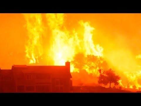 California wildfires: What's fueling the massive fire?