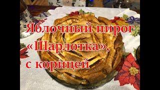 Шарлотка с яблоками. Как испечь в пирог духовке, бабушкин рецепт, простое тесто