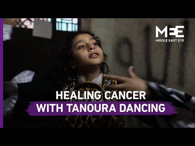 The Egyptian boy fighting cancer with Tanoura dancing