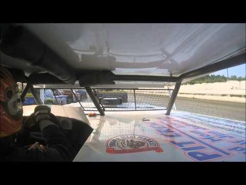 Sportsman Heat Race #1 Pittsburgh's PA Motor Speedway 7/4/15 IN-CAR