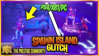NEW Fortnite Glitch Season 4 ''SPAWN ISLAND GLITCH!'' (100% Working) How to Get to The Spawn Island