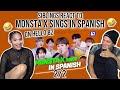 Gambar cover Latinos react to MONSTA X sings in SpanishㅣShoot Out, Follow, Fantasia  PART 2  REACTION
