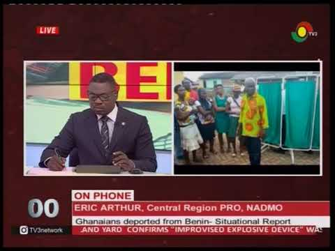 108 Ghanaians deported from Benin