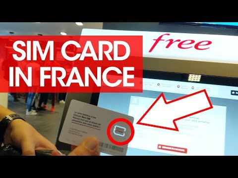 How To Get A SIM Card In France - Using Phone Data While Traveling In France- International SIM Card