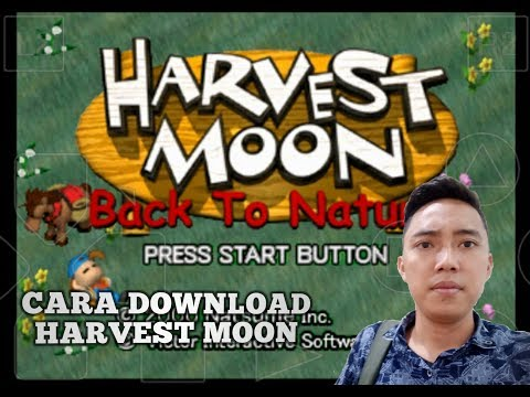Jadi di video kali ini gua bakal ngasih tau kalian bagaimana cara download harvest moon back to natu.