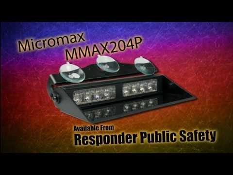Axixtech Micromax II, MMAX204P, LED Dash Light Demo