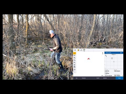 Navigating With The Internal GPS In The Trimble TSC7