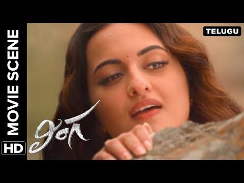 Sonakshi smitten by Rajinikanth's charm | Lingaa Movie Scene