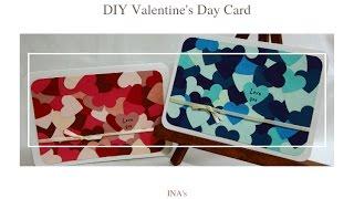 【手作】DIY 滿滿愛心 情人節卡片 | DIY Valentine's Day Card