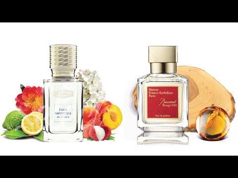 Мои парфюмы: Baccarat Rouge 540 и Fleur Narcotique. Популярная ниша)
