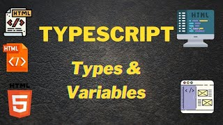 Typescript types and variables