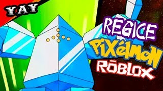 How to get REGICE on ROBLOX's PIXELMON!!! (with subscribers)