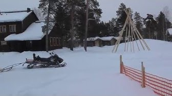 Winter Adventure at Nellim Widerness Hotel in Lappland, Finland