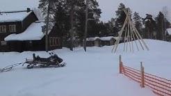 Winter Adventure at Nellim Widerness Hotel in Lappland, Finland