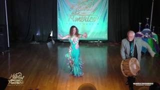 Theresa and Ed Heart of America Belly Dance Festival 2016